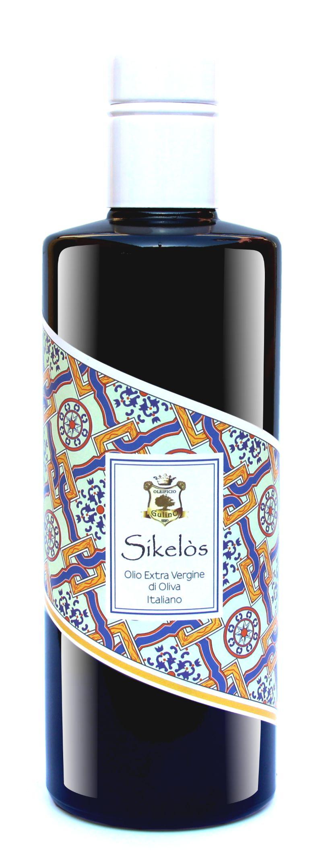 """""""SIKELOS""""-OLIO---100%-ITALIANO---ESTRATTO-A-FREDDO---PROMO-12-BOTTIGLIE"""